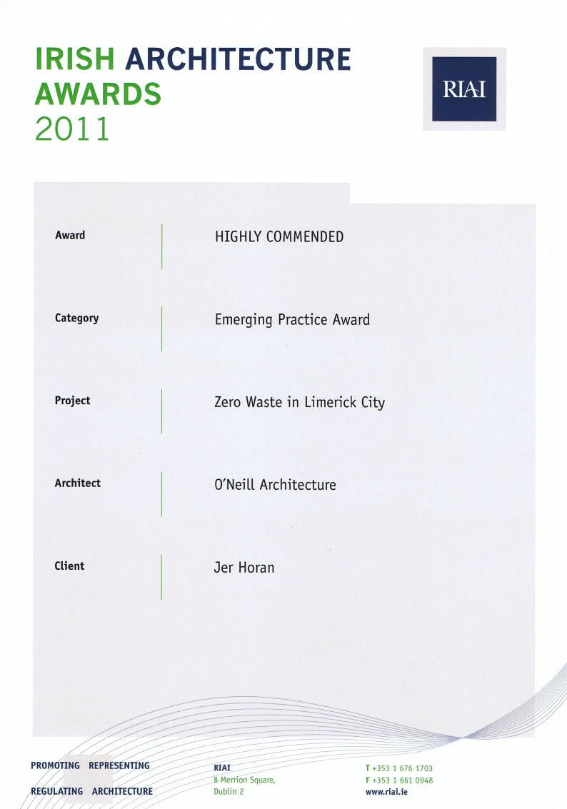 RIAI Highly Commended 2011