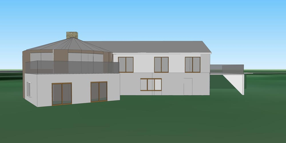 2-Storey House Extension To The Rear