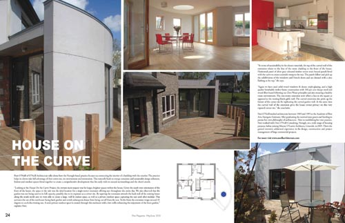 Plan Magazine Summer 2013 House On The Curve
