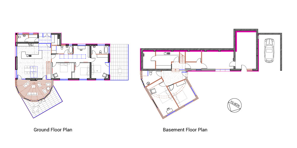 2-Storey House Extension To The Rear - Plans