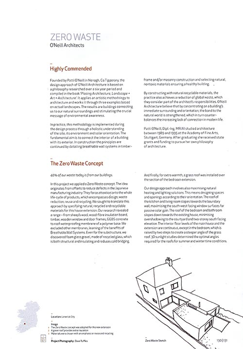 Zero-Waste RIAI Annual Review 2011