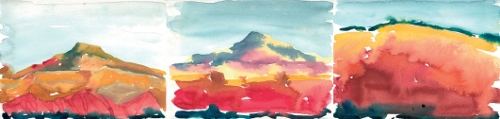 New Mexico Watercolours