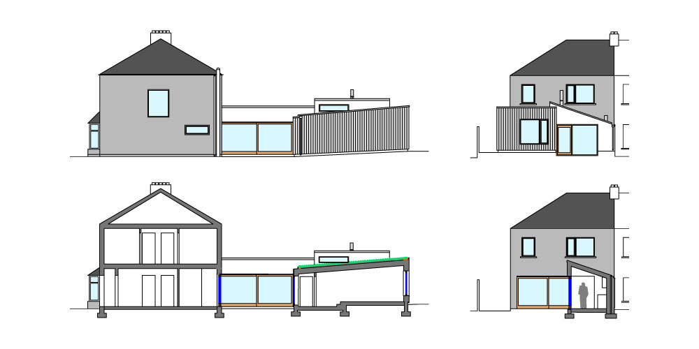 House Extension To The Rear