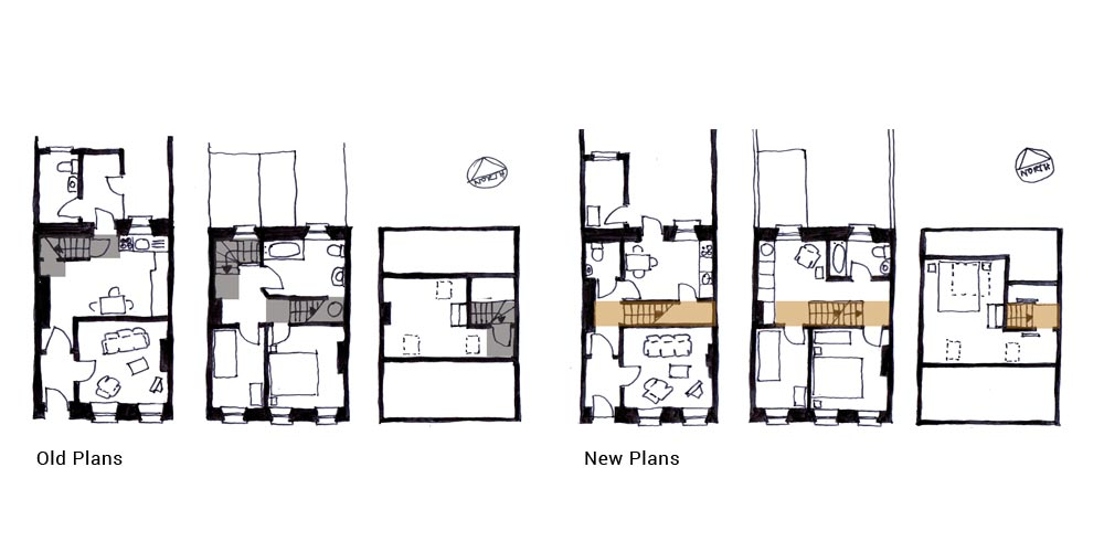 Townhouse Refurb - Plans