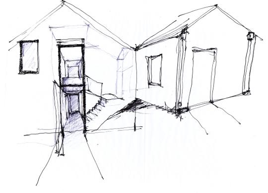 09103 Sketch entrance reduced