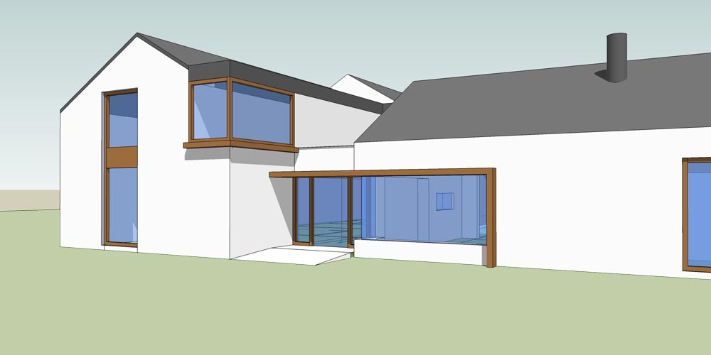 2 Storey House Extension For Disability