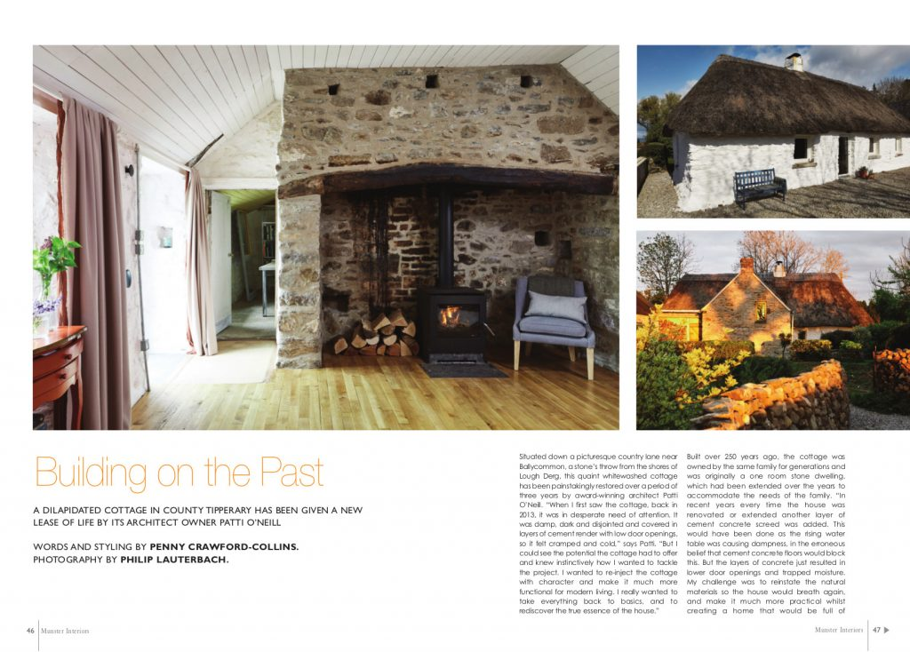 Munster Interiors Magazine Summer Edition 2017 Building On The Past O Neill Architecture